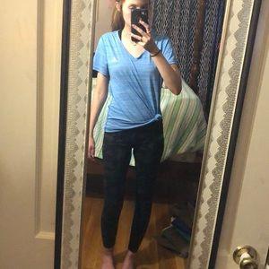 lg adidas workout shirt